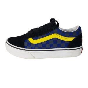 Vans Off The Wall Old Skool Low Top Sneakers, size